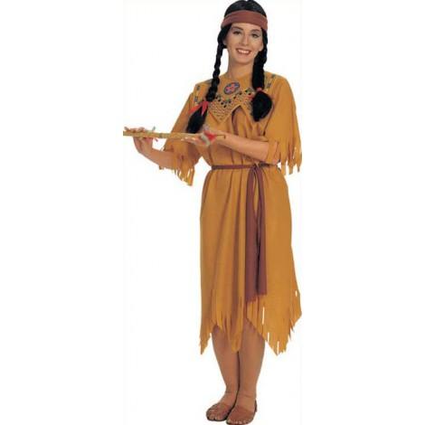 Location déguisement Indienne Lyon - Location Robe indienne - Costume Pocahontas Femme Adulte Lyon