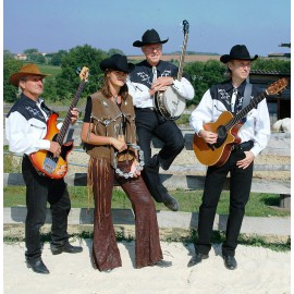 Orchestre Country - Danseurs Country