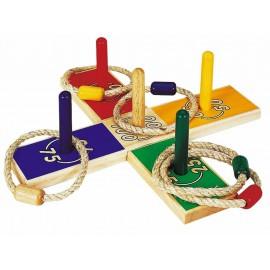 Location jeu du lancer d'anneaux - jeu de bois pour particulier - - pour anniversaire- mariage -bapême - Coupe de cheveux