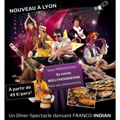 Organisation soirée Thème les Indes - Bollywood - Soirée entreprise Lyon