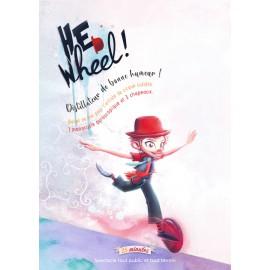 Affiche spectacle de rue acrobatie et jonglage sur le thème du cirque